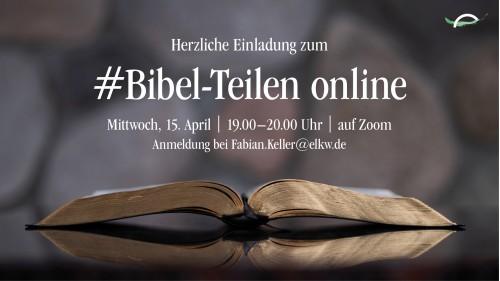 150420 Bibel Teilen
