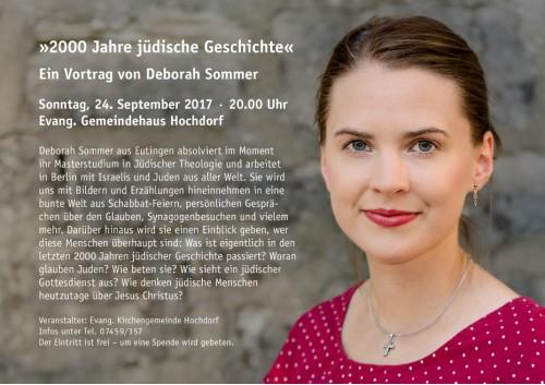 OA Deborah Sommer Anzeige
