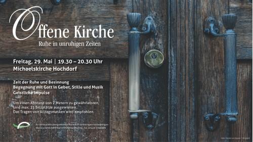 Offene Kirche Anzeige 290520