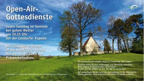 Londorfer Kapelle Godis Anzeige